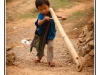 Little boy in Hsipaw - Hsipaw - Burma - Myanmar