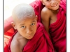 Little monks - Hsipaw - Burma - Myanmar