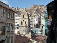 Centre ville de La Paz