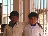 A l'école, dans les environs de Sucre
