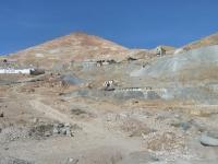 Vue sur la mine