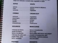 Menu: 3,5€ pour un plat de chaque section !