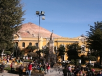 Centre ville de Potosi