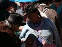Dans les rues de Tarabuco