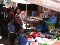 Dans les rues de Tarabuco: concert à la TV !