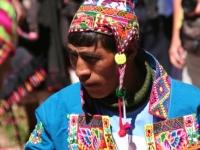 Dans les rues de Tarabuco: musicien