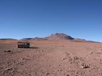 Frontière bolivienne avec le Chili: 4000m, -15°C!