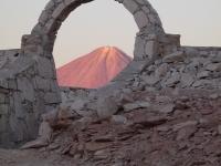 Le Licancabur (5900m) à la frontière du désert d'Atacama