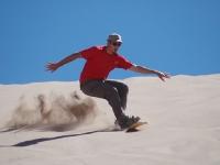 Sand-Surf dans la vallée de la mort