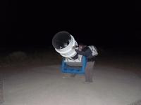 Téléscope du centre d'astronomie