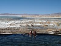 Eaux Thermales devant la laguna Polques