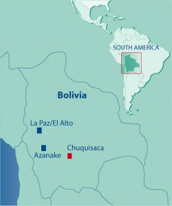Yamparáez, dans le département de Chuquisaca