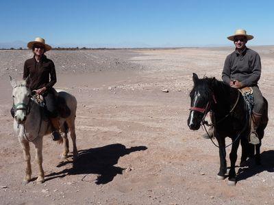 Les cowboys du desert !