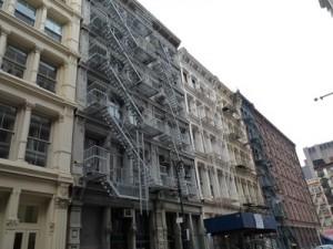 Lescast-iron buildingd