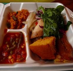 Repas dans un soul-food