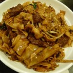 repas dans Chinatown