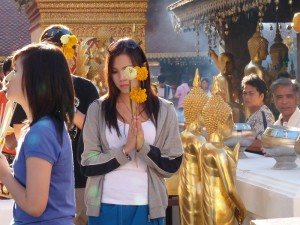 Au temple de Doi Suthep